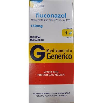 FLUCONAZOL PHARLAB 150MG