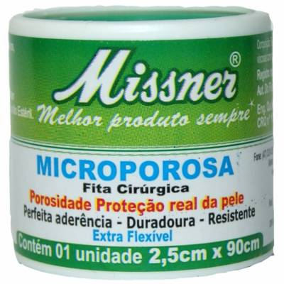 MICROPORE MISSNER 2.5CM X 0.9M