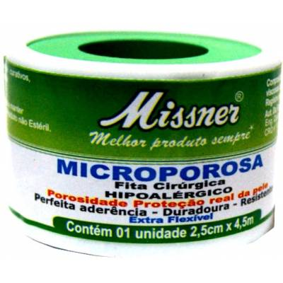 MICROPORE MISSNER 25MM X 4,5M