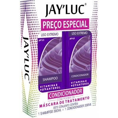 KIT JAYLUC 300 SH + CO LISO EXTREMO