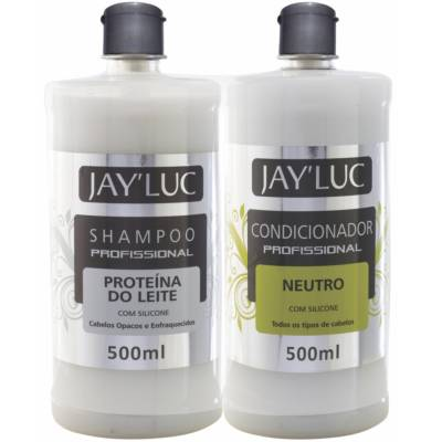 KIT JAYLUC 500 SH + COND PROT LEITE